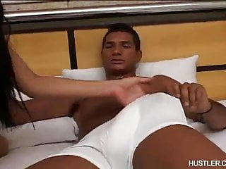 Has anal and foot fetish...