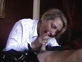 while is a recording young Hot doing hubby milf guy