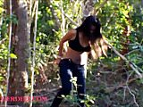 thai teen heather deep flasting tits in the public and give