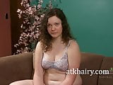 Getting to know hairy brunette Dawna