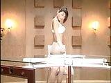 Japanese TV Announcer Stripping