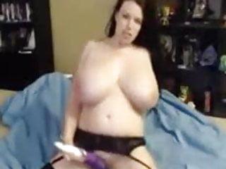 Lilith cums boobs...