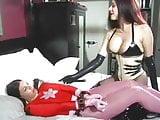 Heroine Gamma Girl gets captured