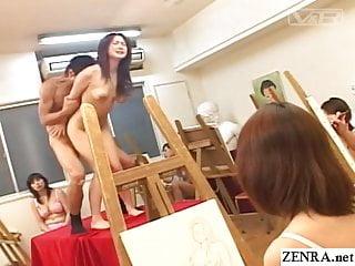 Jav naked school student teacher art class sex...