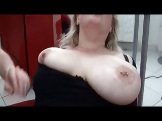 boobs french squirt Amateur BBW with huge