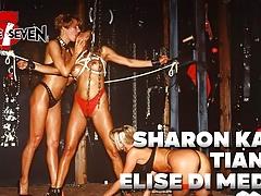 BRUCE SEVEN-Sharon Kane Tianna and Elise Di Medici