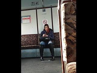 Hungarian Girl Spy Camera Hidden Camera in Train VoyeurVideo
