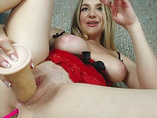 A bitch with a hot pussy is already flowing and wants your cock