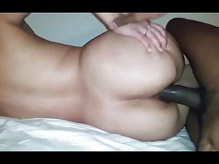 Wife anal creampie...