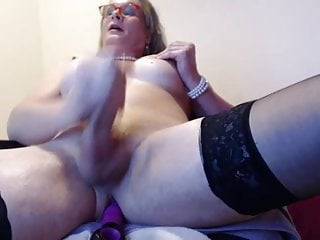 Amateur Shemale Big Tits Shemale porno: Mature ts marcy shoots load