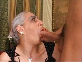 Tina Monti young cock Italian BIG granny