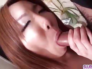 Yuna hirose tries a...