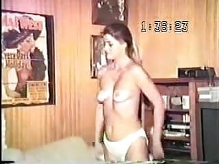 Old vhs tape of his lovely young wife...