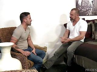 Menover30 thick dick fucks younger latino boy...