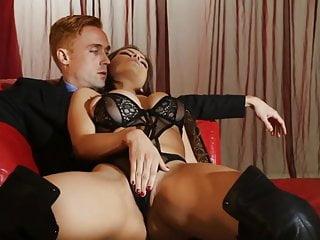 Lapdance and bw black lingerie...