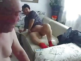 Chinese old couple obscene 03...