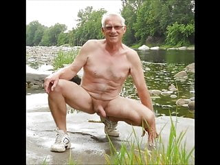 Grandpa beach nude pictorial...