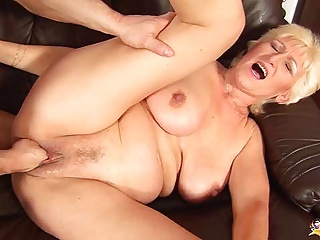 68 years weak horny mommy tough fist fucked