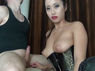 Asian blows and fucked guy...