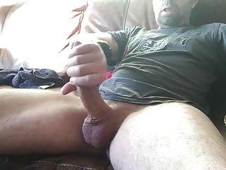 Hot sexy wanker big cock masturbing