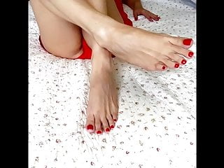 Latina Hot Scortching hot Toes & Soles Measurement 9 US  , Lengthy Toes