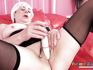 Europemature horny busty star...