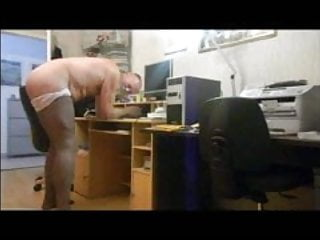 Spanking of a kinky faggot...
