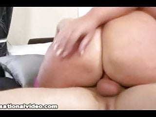 British BBW takes shaft in all holes