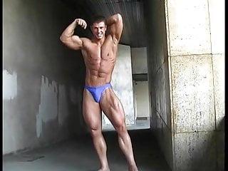 Str8 athletic flexing...
