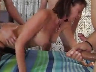 The Swinger Experience Presents Aged Hot Slut GanGBanGed