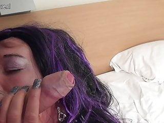 Dirty mature slut mom cock...