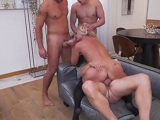 mothers Busty sons bang mature