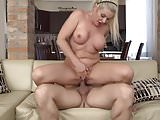 Real mature moms suck and fuck hard cocks