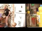 Avec sa grand-mere a la cuisine by Clessemperor