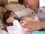 Azumi Kinoshita gets her horny guy