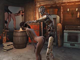 Fallout 4 elie synth sex...