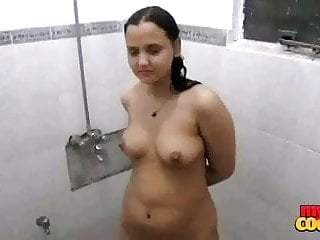 Taking early mornign shower...