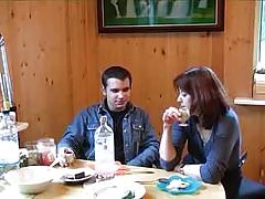 Russian Mature Mom Drunk Home Sexual Affair With Young Lover 153