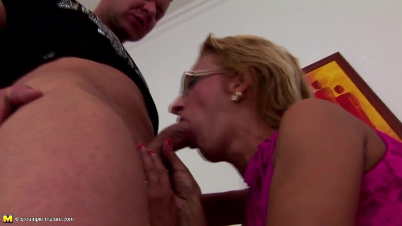 Mom Fucks Son After Work