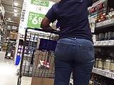 Mature Ebony Plump Booty Upshot