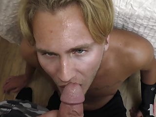 Daddy fucks younger in pov...
