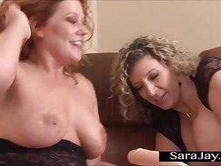 Sara Jay viene pestata da una macchina del cazzo