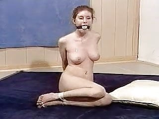 Bound gagged and toetied...
