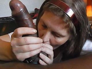 Granny Worship Large Black Penis