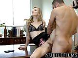 NubileFilms - Office Slut Fucked Till She Squirts