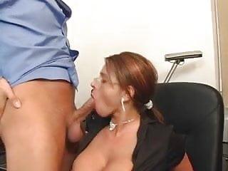 Sexy Susi wie ein sexy Sekretärin