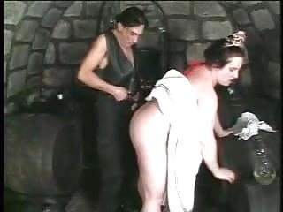 Milkmaid boobs and plump hairy pussy...
