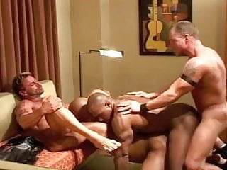 Muscle orgy...