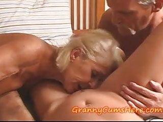 Granny has orgy...