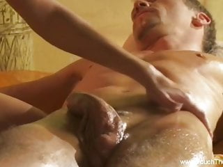 Big cock gets massage relief here just to...